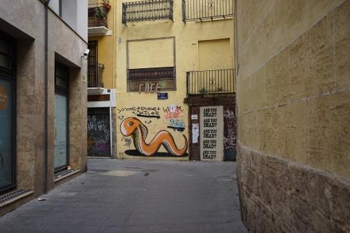 grafitti in the city