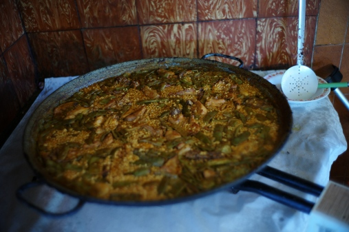 this is the authentic and traditional valencia´s paella